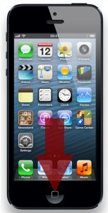 iphone 5 home button vervangen