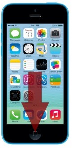 iphone 5c home button vervangen